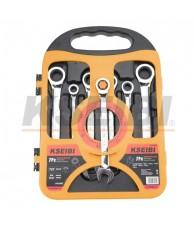 Ratchet Combination Wrench Set 7pcs