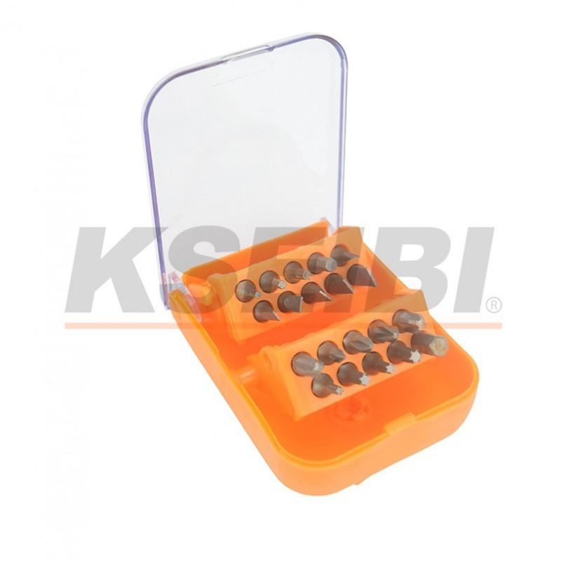 high quality 20pc screwdriver bit set with belt holder. Black Bedroom Furniture Sets. Home Design Ideas