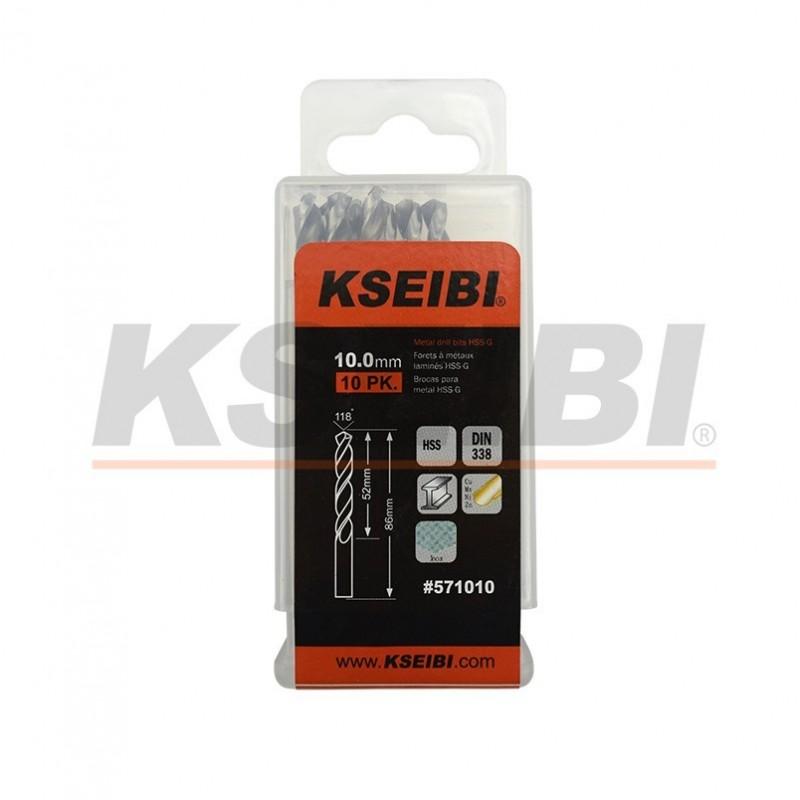 Metal drill bits HSS-R, DIN 338