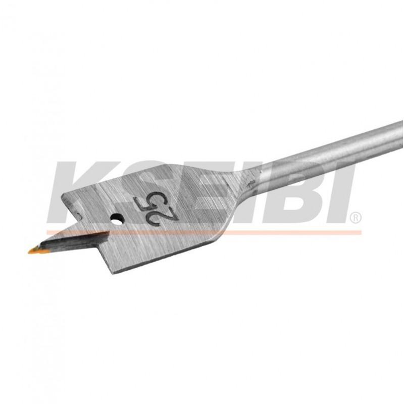 Flat spade bits