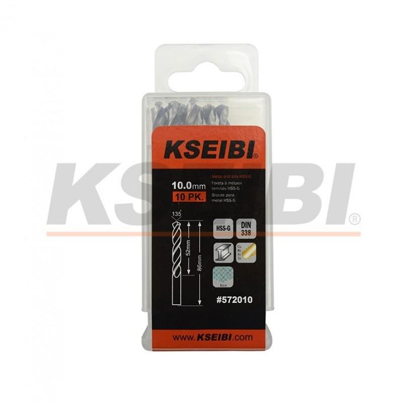 Metal drill bits HSS-G, DIN 338