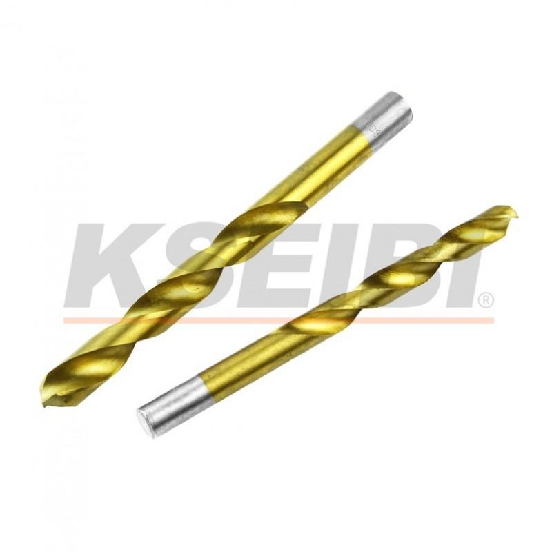 Metal drill bit sets HSS-TiN, DIN 338
