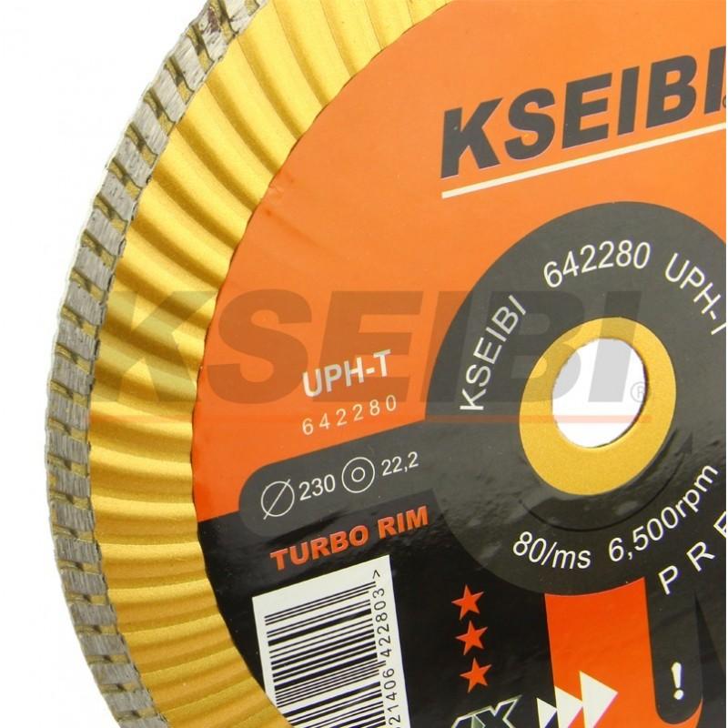 Hot-pressed diamond discs segmented
