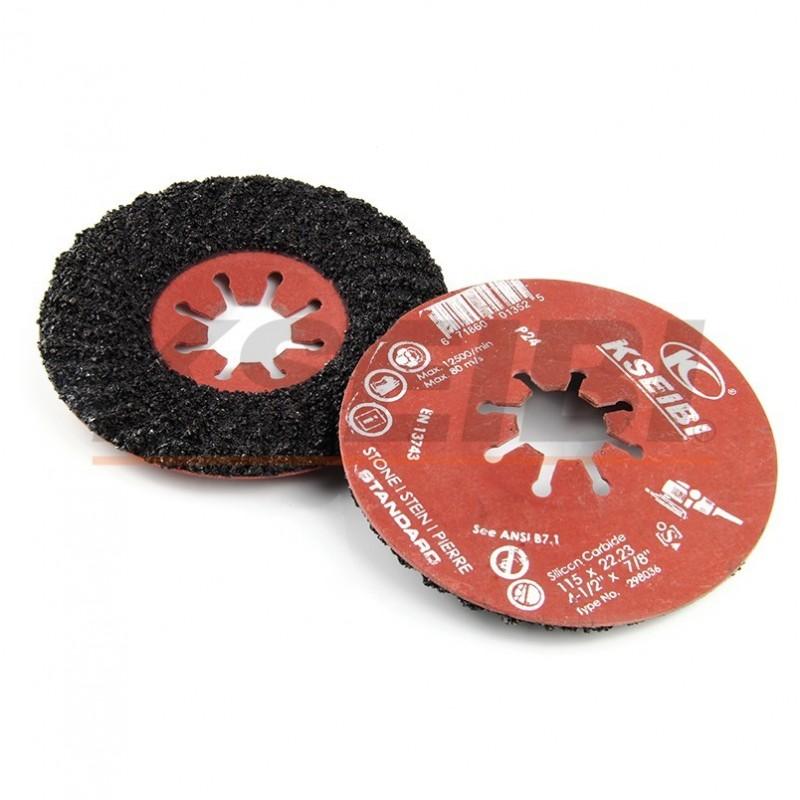 Semi-flexible discs silicone carbide