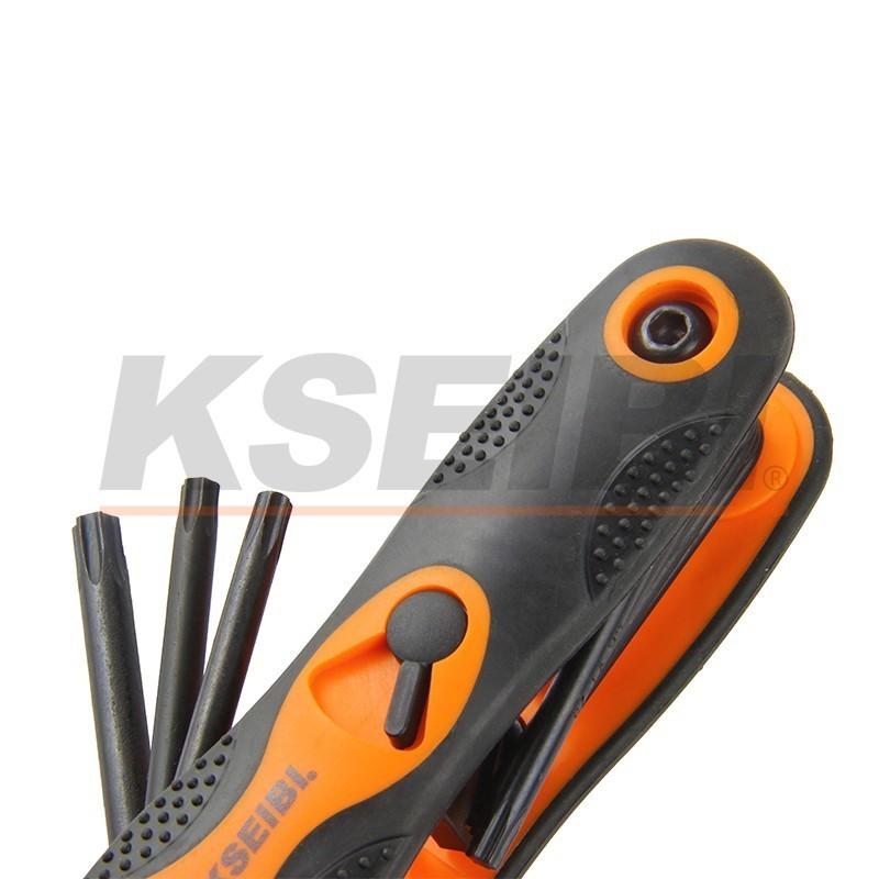 Folding Hex Key Wrench Set 8pcs