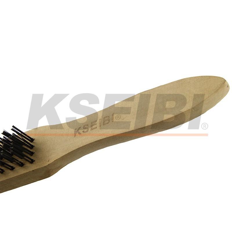 European type hand brushes wooden handle