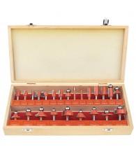 Tungsten Carbide Router Bit Set Woodworking (24Pack)