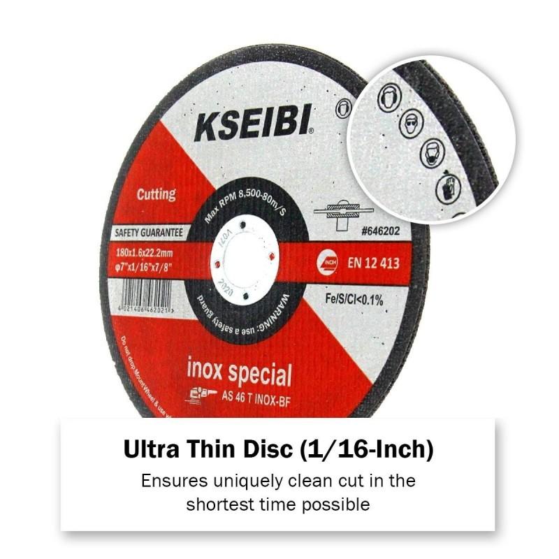 Inox cutting discs